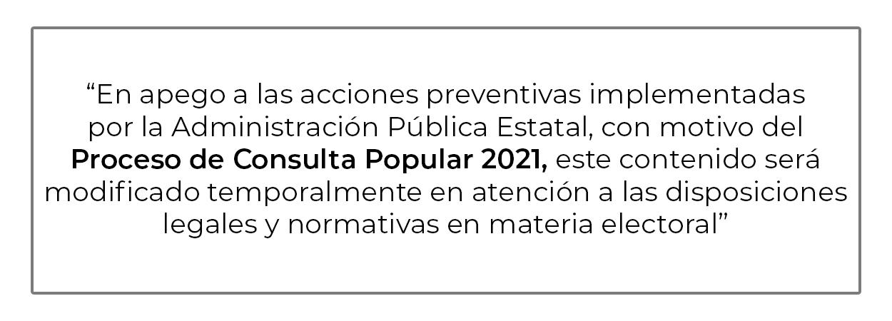 Consulta Popular 2021